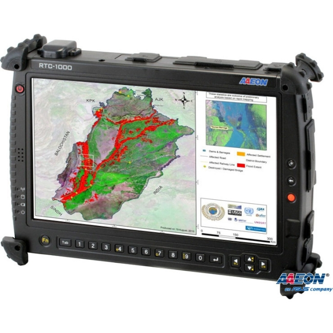 "Aaeon 10.2"" Rugged Tablet Computer TF-RTC-1000AS-TAS-WB-1110 RTC-1000AS"