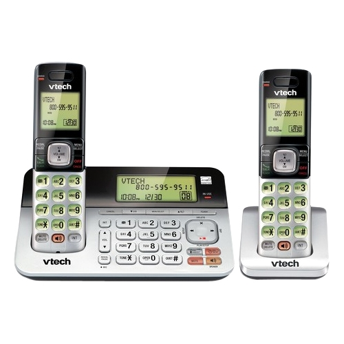 VTech 2 Handset Answering System with Caller ID/Call Waiting CS6859-2