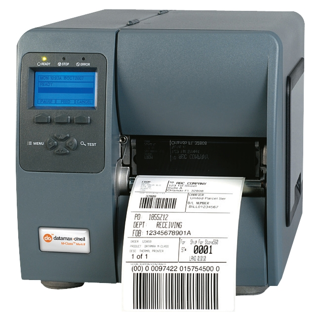 Datamax-O'Neil M-Class Mark II RFID Label Printer KA3-L1-480000V7 M-4308