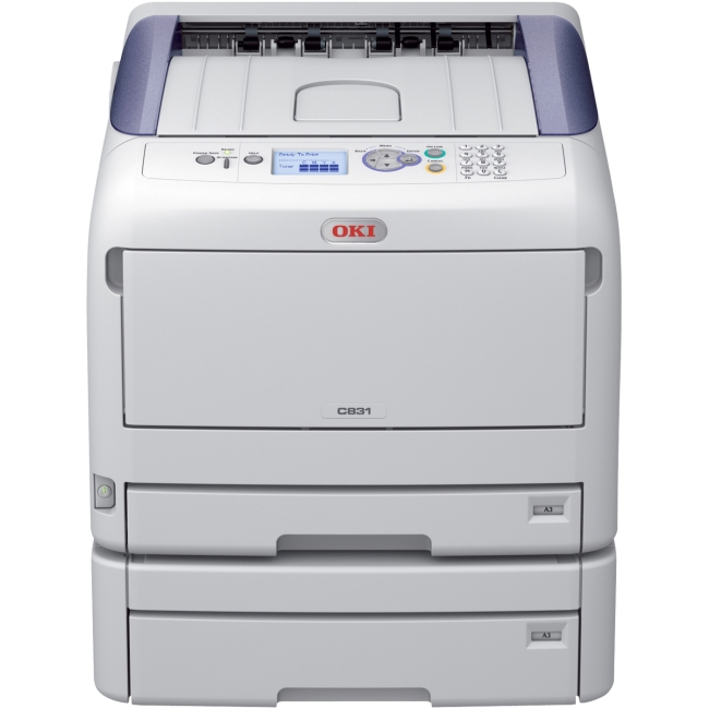 Oki C831 - Colour and Mono Printers 62441004 C831DN