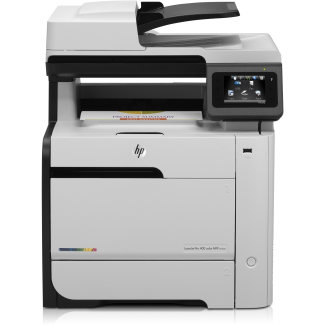 HP LaserJet Pro 400 Multifunction Printer - Refurbished CE863AR#BGJ M475DN
