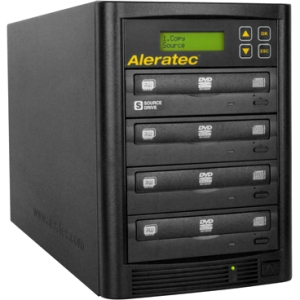 Aleratec 1:3 DVD CD Copy Tower Stand-Alone Duplicator 260180
