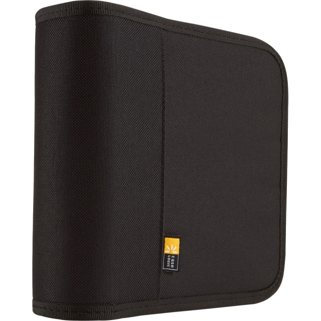Case Logic 24 Capacity Nylon CD / DVD Wallet BNW-24BLACK