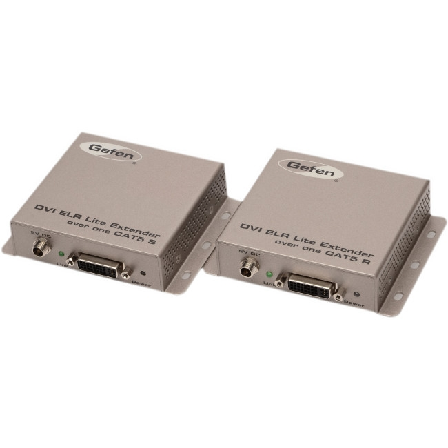 Gefen DVI ELR Lite Extender Over One CAT5 EXT-DVI-1CAT5-SR
