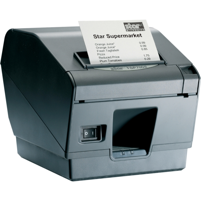 Star Micronics Receipt Printer 39442511 TSP743IIU-24GRY