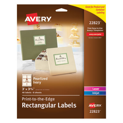 pres a ply templates - avery rectangle print to the edge labels 2 x 3 glossy