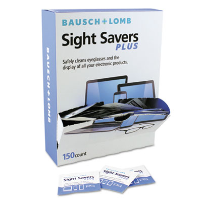 Bausch & Lomb Pre-Moistened Electronic Cleaning Tissues, 150 Tissues/Pack BAL628042 628042