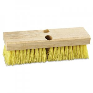 "Boardwalk Deck Brush Head, 10"" Wide, Polypropylene Bristles BWK3310"