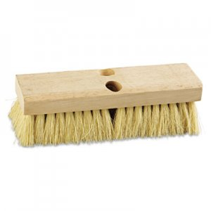 "Boardwalk Deck Brush Head, 10"" Wide, Tampico Bristles BWK3210"
