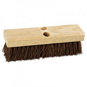 "Boardwalk Deck Brush Head, 10"" Wide, Palmyra Bristles BWK3110"