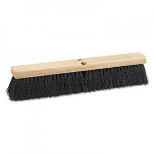"Boardwalk Floor Brush Head, 18"" Wide, Black, Medium Weight, Polypropylene Bristles BWK20618"
