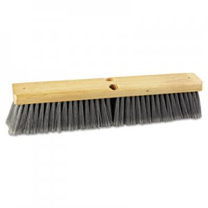 "Boardwalk Floor Brush Head, 18"" Wide, Flagged Polypropylene Bristles BWK20418"