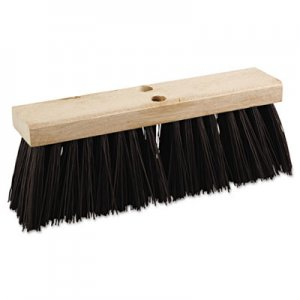 "Boardwalk Street Broom Head, 16"" Wide, Polypropylene Bristles BWK73160"