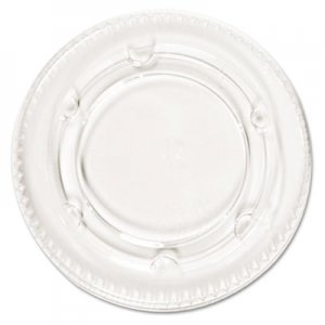 Pactiv Crystal-Clear Portion Cup Lids, Fits 1.5-2.5oz Cups, 2400/Carton PCTYLS2FR YLS2FR