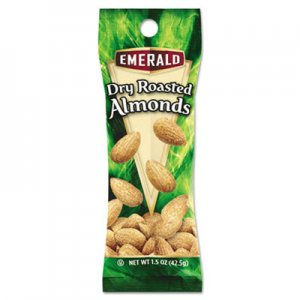 Emerald Dry Roasted Almonds, 1.5 oz. Tube Package, 12/Box DFD84170 84017
