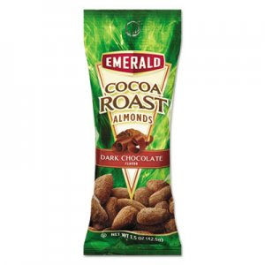 Emerald Cocoa Roast Almonds, 1.5 oz. Tube Package, 12/Box DFD89426 89426