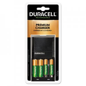 Duracell ION SPEED 4000 Hi-Performance Charger, Includes 2 AA and 2 AAA NiMH Batteries DURCEF27 CEF27