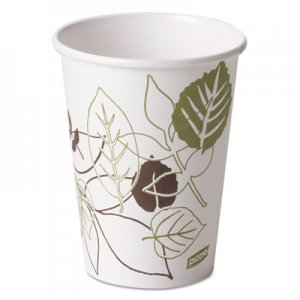 Dixie Pathways Paper Hot Cups, 12oz, 50/Pack DXE2342PATHPK 2342PATH