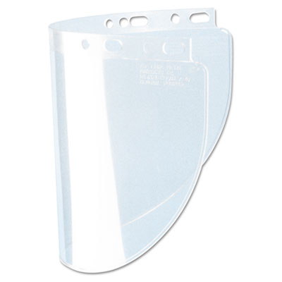 Fibre-Metal by Honeywell High Performance Face Shield Window, Wide Vision, Propionate, Clear FBR4178CL 280-4178CL