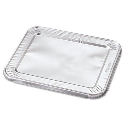 Handi-Foil of America Steam Table Pan Foil Lid, Fits Half-Size Pan, 10 7/16 x 12 1/5