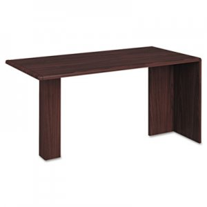 HON 10700 Series Peninsula, Wood Support Column, 60w x 30d x 29 1/2h, Mahogany HON10726NN H10726.NN