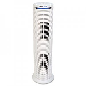 Therapure HEPA-Type Air Purifier, 183 sq ft Room Capacity, Three Speeds ION90TP230TW01W 90TP230TW01W