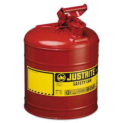 JUSTRITE Safety Can, Type I, 5gal, Red JUS7150100 400-7150100