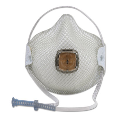 Moldex 2700N95 Series HandyStrap Respirator, Half-Face Mask, Medium/Large, 10/Box MLX2700N95 507-2700N95