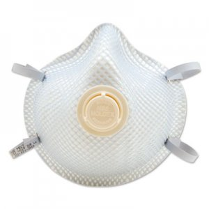 Moldex 2300N95 Series Particulate Respirator, Half-Face Mask, Medium/Large, 10/Box MLX2300N95 507-2300N95