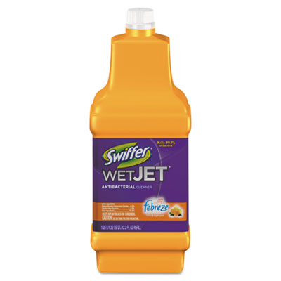 Wetjet System Cleaning Solution Refill 1 25l