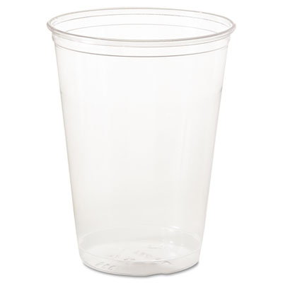 Dart Ultra Clear PETE Cold Cups, Individually Wrapped, 10oz, 500/Carton SCCTP10DW TP10DW