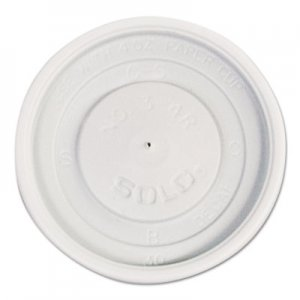 Dart Polystyrene Vented Hot Cup Lids, 4oz Cups, White, 100/Pack, 10 Packs/Carton SCCVL34R0007 VL34R-0007
