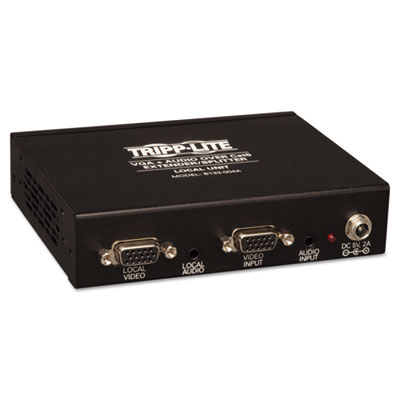 Tripp Lite 4-Port VGA Plus Audio Over CAT5 Transmitter TRPB132004A2 B132-004A