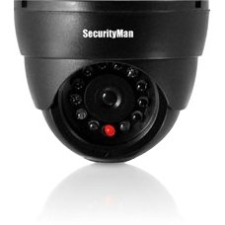 SecurityMan Dummy Indoor Dome Camera W/LED Perp SM-320S