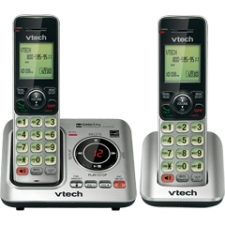 VTech 2 Handset Answering System with Caller ID/Call Waiting CS6629-2