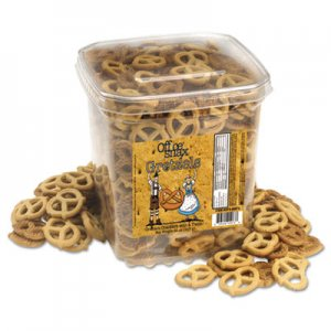 Office Snax Gretzels, Cinnamon/Honey, 32oz OFX00073 00073