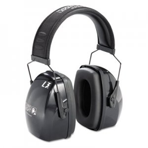 Howard Leight by Honeywell Leightning L3 Noise-Blocking Earmuffs, 30NRR, Black/Gray UVX1010924 1010924