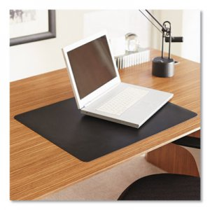 ES Robbins Natural Origins Desk Pad, 19 x 12, Matte, Black ESR120792 120792