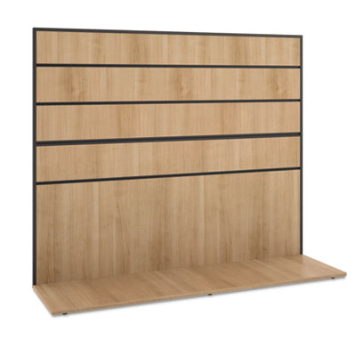 basyx Manage Series Work Wall, Laminate, 60w x 17d x 50h, Wheat BSXMGWKWLWHA1