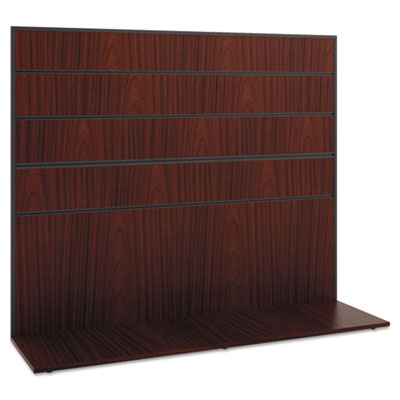 basyx Manage Series Work Wall, Laminate, 60w x 17d x 50h, Chestnut BSXMGWKWLC1A1
