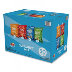 SunChips Variety Mix, 1.5 oz Bags, 30 Bags per Box LAY67652 67652