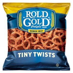 Rold Gold Tiny Twists Pretzels, 1 oz Bag, 88/Carton LAY32430 028400324304