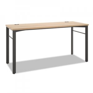 basyx Manage Series Desk Table, 60w x 23 1/2d x 29 1/2h, Wheat BSXMLD60W