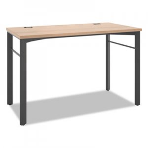 basyx Manage Series Desk Table, 48w x 23 1/2d x 29 1/2h, Wheat BSXMNG48WKSLW