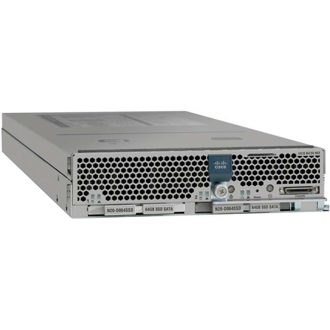 Cisco B230 M2 Server UCS-EZ7-B230-EX128