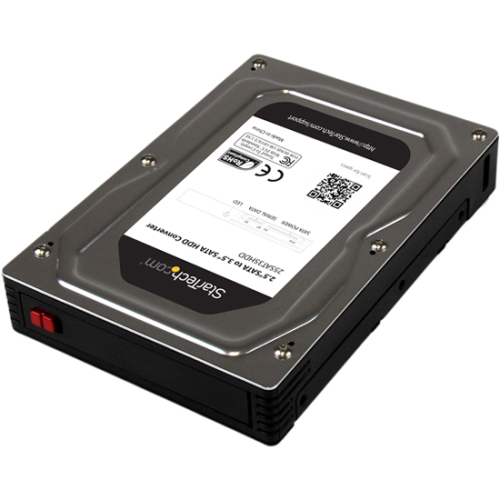"StarTech.com 2.5"" to 3.5"" SATA HDD/SSD Enclosure 25SAT35HDD"