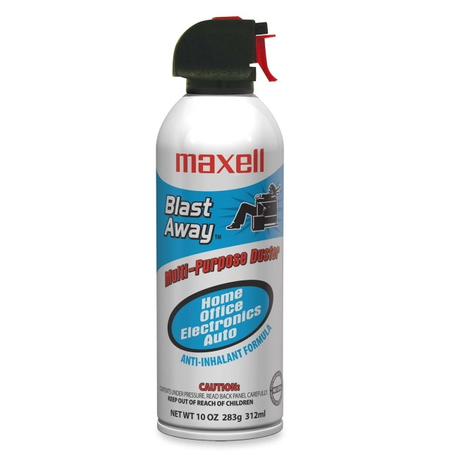 Maxell CA-3 Blast Away Canned Air 154a 190025
