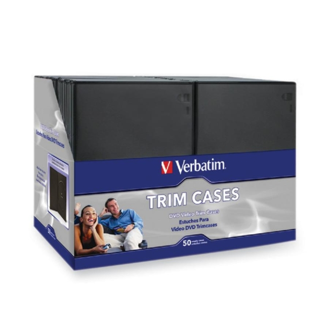 Verbatim DVD / Blu-Ray Video Trim Case 95094