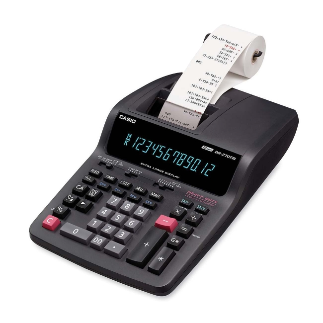 Casio Desktop Printing Calculator DR270TM
