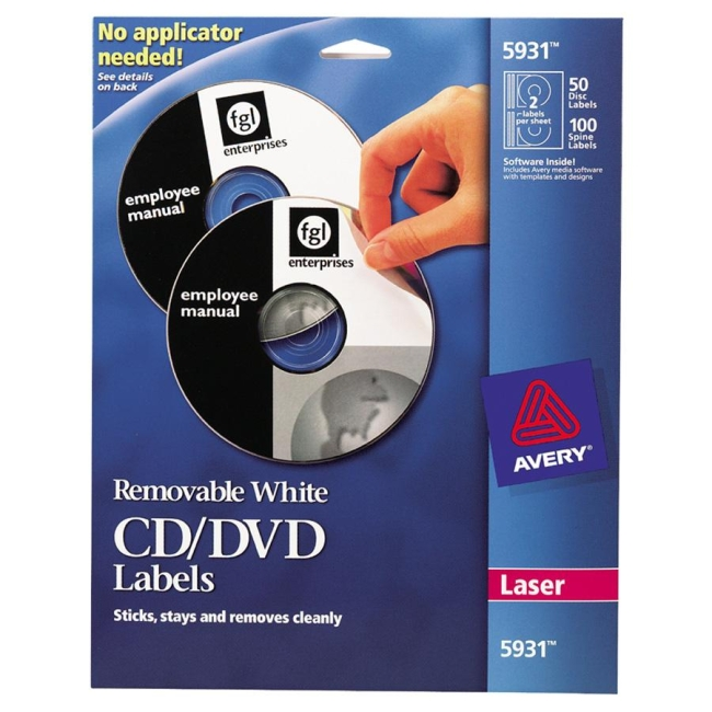 download free template for avery 5931 cd label